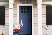 DOORS FRONT PORCH STYLE / #Painted Doors #Front Porch / by Oh One Fine Day