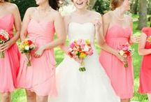 w e d d i n g / an eclectic and vintage wedding   bright and colorful wedding   coral and yellow spring / summer wedding