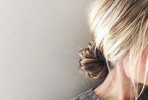 h a i r / hair styles for medium to long hair