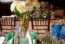 "Creative Wedding Centerpieces / Some of our favorite wedding centerpieces.  From classic & elegant to funky & fun!  These are not your ""traditional"" floral centerpieces!"
