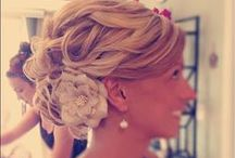 "Wedding hair for your ""I DO"" / Wedding hairstyles for your big day.  Some are funky and fresh and some are classic and timeless!  No matter what you choose, be sure it is a reflection of you!"