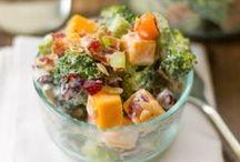 SOUPS & SALADS...Veggies and Herbs