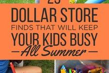 Summer Sanity / How to keep those crazy kids busy all summer?!?  Great ideas from other moms to keep our sanity!