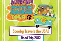 Scooby-Doo Mystery Machine Tour 2012 / by Scooby-Doo