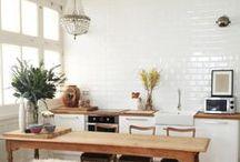 k i t c h e n / inspiring kitchens   interior style   kitchen design and decor