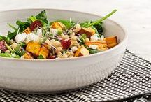 s a l a d s / salad recipes and combinations to always keep your salad game  fresh