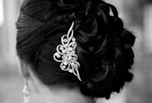 Wedding Hair and Makeup Ideas / styles for the big day! fancy hair / makeup / by Lisa Fallacaro (Travers)