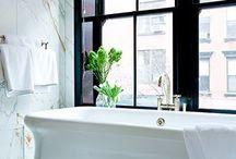 Bathroom & Dressing Spaces / by Jennifer Swanson