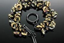 Elemental Art Jewelry Bracelets / Visit www.elementalartjewelry.com for more bracelets all handmade by me, Kat Wisniewski, of Elemental Art Jewelry