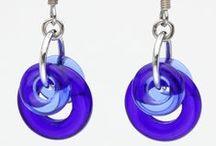 Elemental Art Jewelry Earrings / Visit www.elementalartjewelry.com for more earrings all handmade by me, Kat Wisniewski, of Elemental Art Jewelry