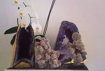 Venusrox Mineral Decoration / Inspiration on how natural rocks and minerals or crystals offer spectacular contributions to any space with both their beauty and essence.
