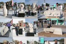 Esculturas Bienal del Chaco 2012