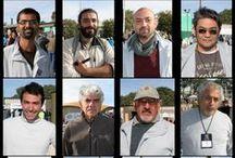 Escultores Bienal del Chaco 2012 / Escultores participantes de la Bienal de escultura del Chaco 2012