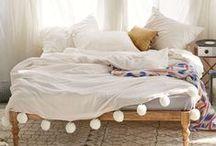 b e d r o o m / inspiration for a romantic, comfortable, and stylish bedroom