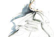 fashion illiustration/sketches