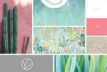 c o l o r t h e o r y / a collection of color pallets and color theories