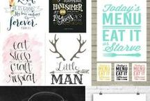 Pretty Printables, Fonts & Clip Art / Pretty prints, fabulous fonts and cute clip art for the creative you