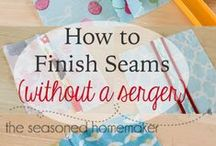 Sew Creative~Tips & Tricks / Sewing tips and tricks for even the most seasoned crafter