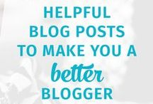 Need to Know~Blogging / Information for everything about blogging.