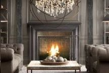 Shades of Old Silver / shades of old gray & pewter in metals, woods, finishes, fabrics & fashion