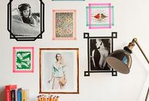 home: WALL DECOR / Frames & co. / by Magda Lena Designs