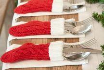 home: CHRISTMAS / beautiful christmas decoration inspirations / by Magda Lena Designs