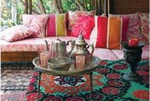 Sexy + Soul-full Home / Home decor with boho flair: Color, fun, and a touch of whimsy.