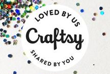 Crafting Projects We Love / We know crafters love to share ideas. Upload your most recent project to Craftsy and your fellow artists can check it out, comment, ask questions and, of course, give you some much deserved kudos!