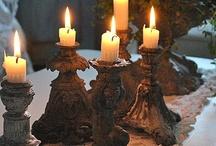 Côté Bougeoirs....Bougies....Candles / by Vero M Coté Passions