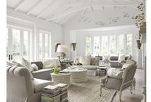 In - white / My next living environment,  house interior will be dominated by white. Collecting ideas.