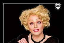 Fave Drag QUEENS / Beauty is in the EyE of the Beholder.