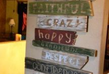 Salvaged, Upcycled & Restored!  / Restorations on upcycling all types of things!!!  / by Nicole S