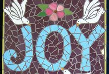 Mosaic / All things mosaic: stained glass, stone, pebbled, micro mosaic. Modern, ancient.  Fine art, folk art, functional. Abstract and representational.