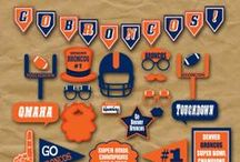 Broncos Super Bowl Party! / Colorado pride! The Denver Broncos will be competing in the 2014 Super Bowl. Throwing a party? Here are some ideas!