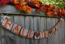Fall in Love / Fall/Autumn Wedding ideas/plans/color schemes, etc., etc.  / by Claire Mcinnis