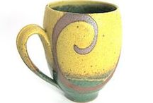 Just a Mug / Mugs! Hand made, of course! And with a handle. / by David Voorhees