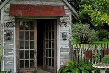 Potting Sheds and Greenhouses / by Sarah Hill