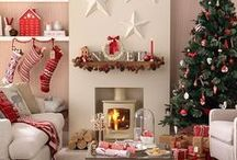 Christmas Decoration Ideas / Turn your home into a festive wonderland & capture the magic of Christmas with inspiring decorating ideas
