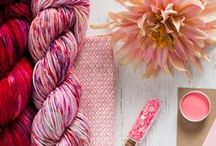 Yarn / Browse beautiful skeins and hand curated kits that will add that extra special touch to your next knitting project.