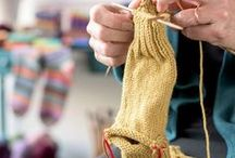 Socks and Slippers / Isn't it time you treated your toes to a little something special? We rounded up all things sock including yarn, patterns and helpful tips. All you have to do is pick up your needles and pick a pair.
