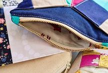 Purses and Bags / Don't spend hundreds on a handbag and accessories when you can make your own with the help of a sewing machine. Customize and sew boutique-quality bags with these tips, patterns and guided lessons.