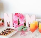 Mother's Day Brunch / What better way to give back to your mom than with an amazing brunch! Bring together these tasty homemade recipes, DIY decorations and flower ideas for an extra special (and crafty) Mother's Day!