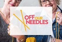 Off Our Needles / Hold on to your needles - Tracie & Jodi are dishing out weekly knitspiration on YouTube every Friday! From project picks to wooly-good gossip, there's no telling where things will go.