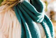 Shawls and Scarves / Who doesn't love a beautiful new scarf or shawl? These gorgeous crochet and knitting patterns are a perfect way to practice beginner skills or a fast and easy project for more advanced knitters.