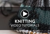 Knitting Videos / It's no secret Craftsy has some awesome video tutorials and knitting classes. Take a peek at some of our new and inspiring creative content. Who knows what new project or skill you might pick up?!