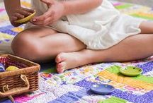 Children's Quilts and Blankets / A knitted blanket or handmade quilt is a gift that will last a lifetime.
