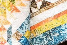 Batik Quilts / Make stunningly unique quilts with batik fabrics. Get inspired by these amazing works of art!