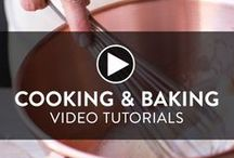 Cooking and Baking Videos / Great cooking isn't all about the recipes... it's about technique. Our professional cooking instructors will teach you how to prepare delicious recipes and refine your skills.
