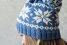 Hats / Protect your head from the cold with a snuggly knit or crochet hat.