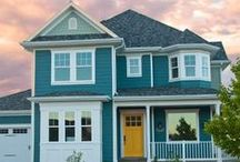 Exemplary Exteriors / Exteriors we love! Also featuring some of our own Model Homes.